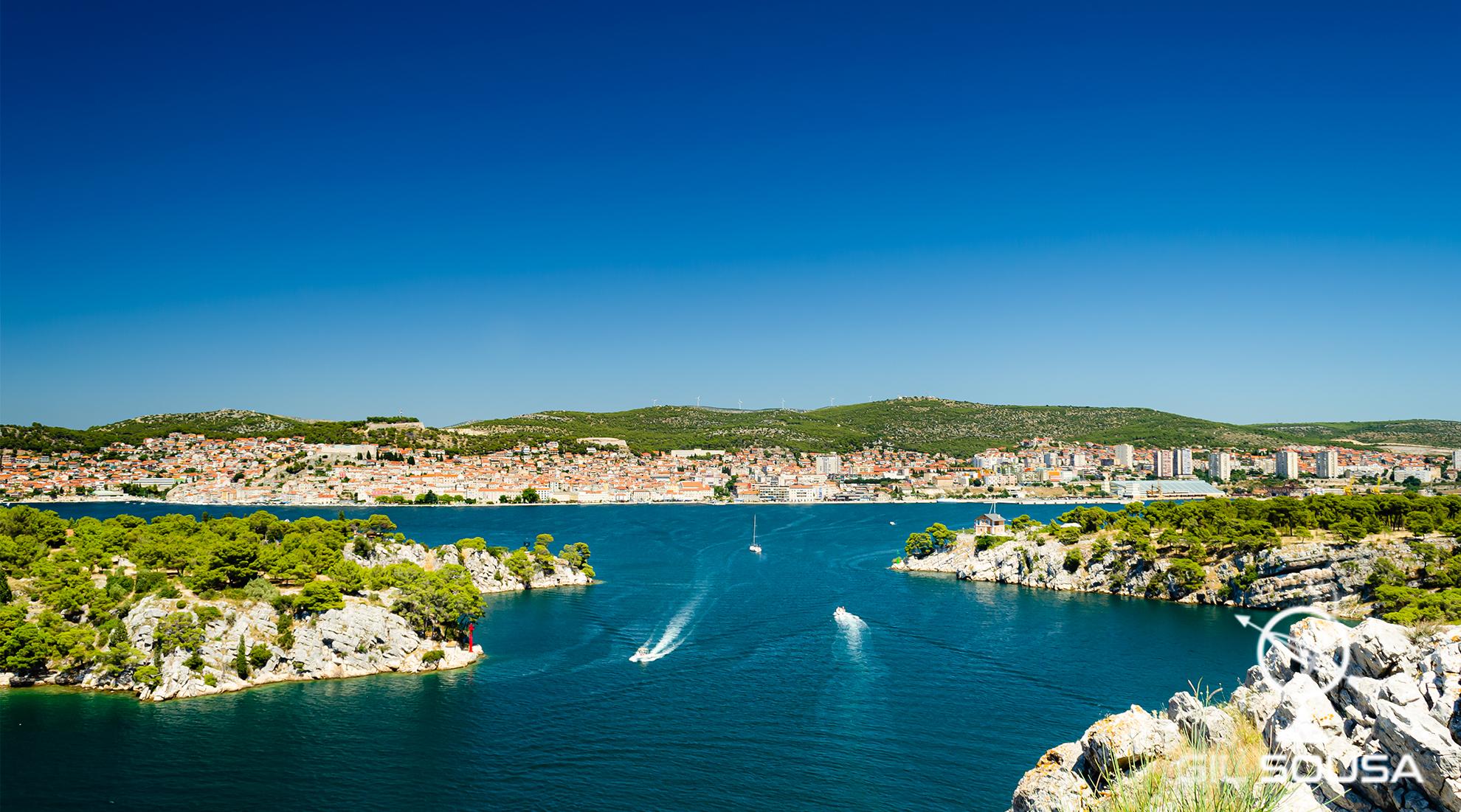 Baía em Zablaće, Šibenik