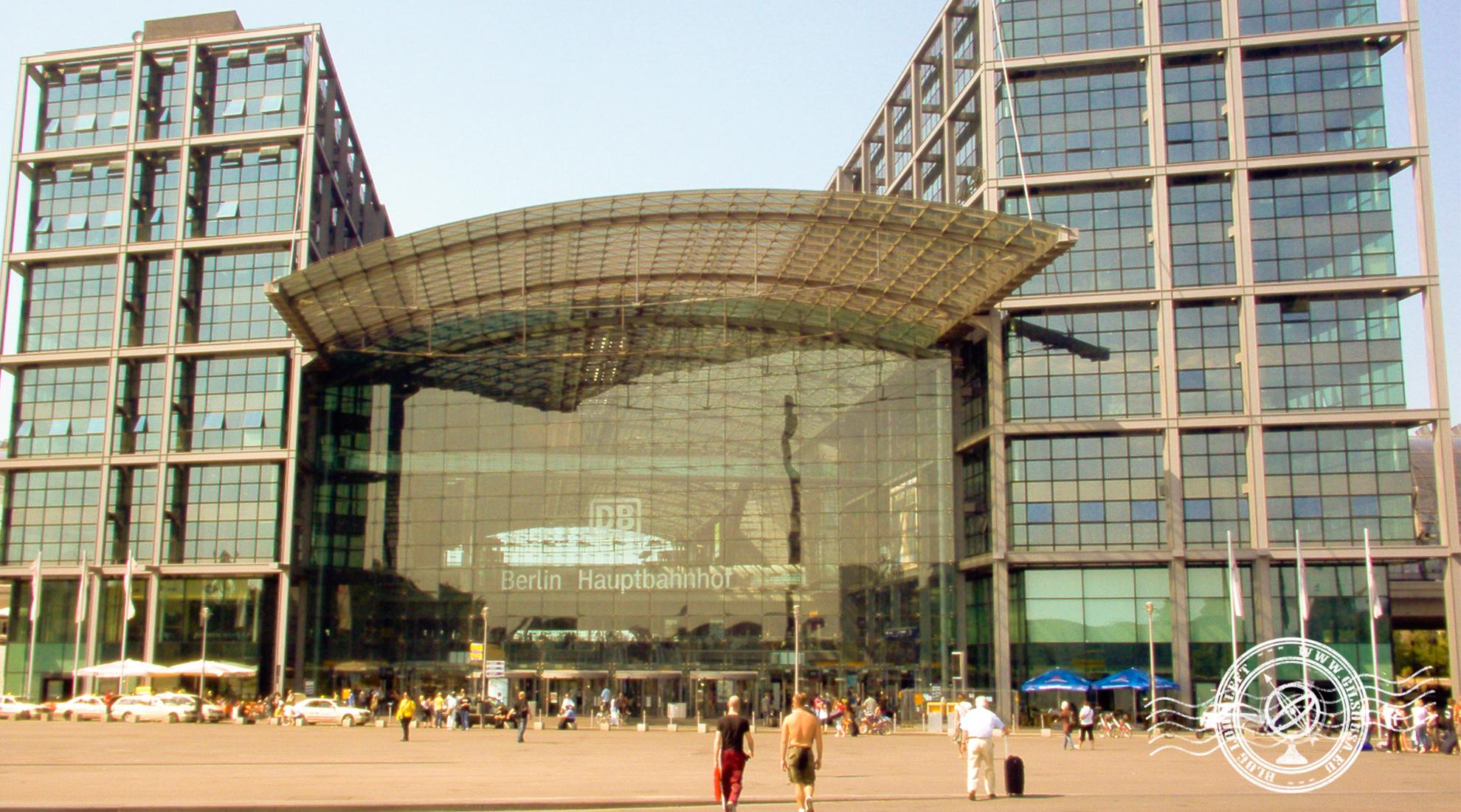 Berlin Hauptbahnhof - Berlin's main train station
