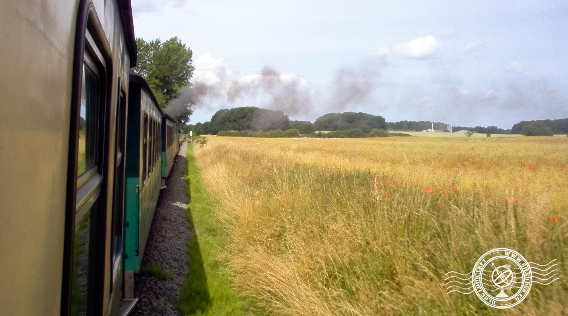 Steam train in Rügen