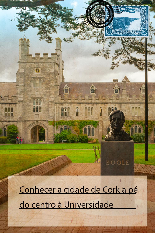 Conhecer a cidade de Cork a pé, do centro à Universidade