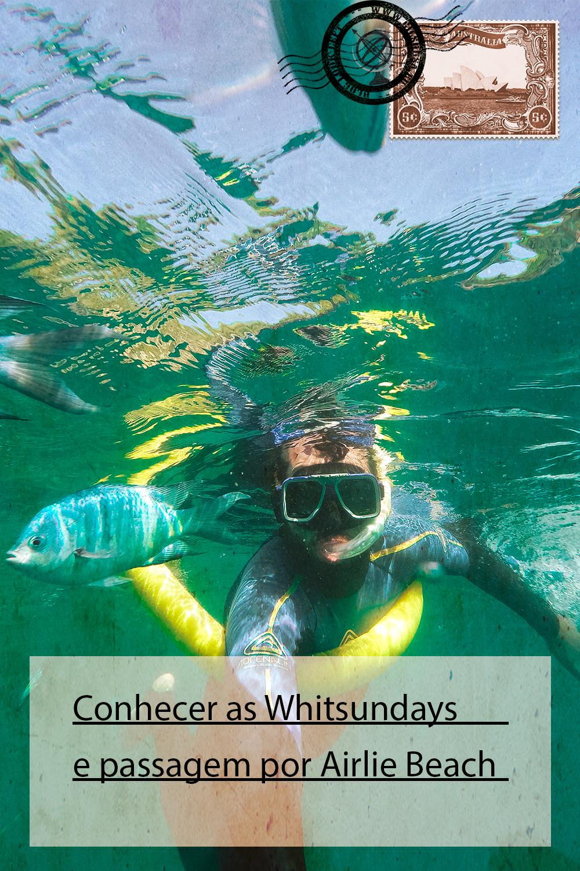 Conhecer as Whitsundays e passagem por Airlie Beach