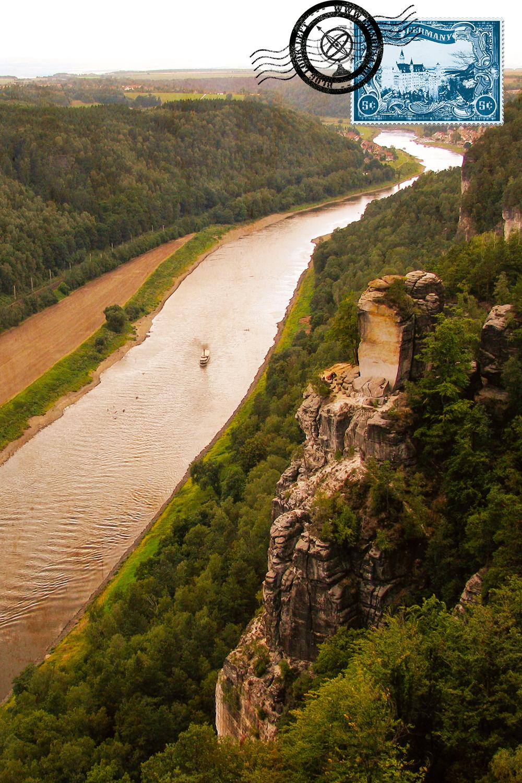 Elbe Valley at Saxon Switzerland