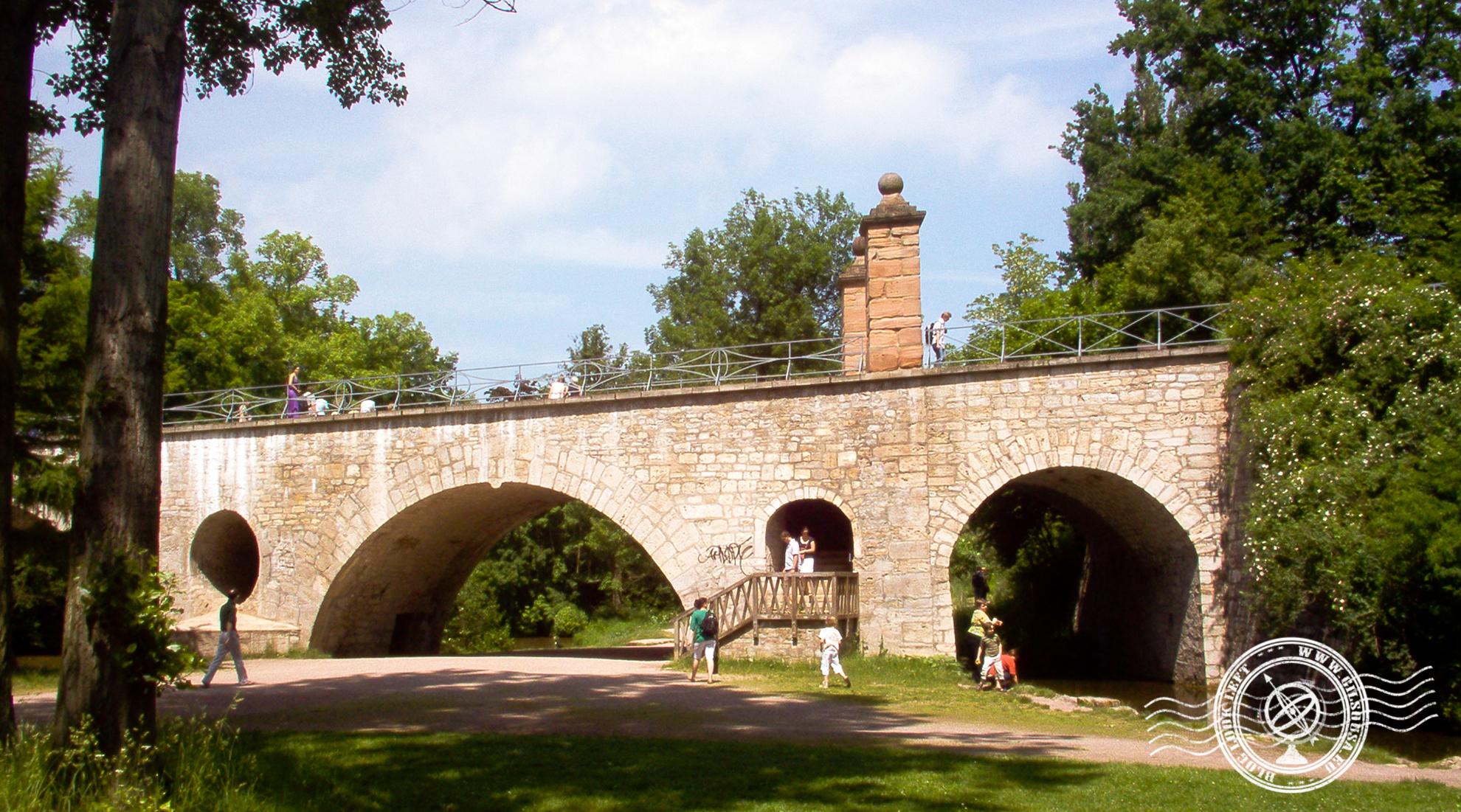 Bridge at Weimar Park