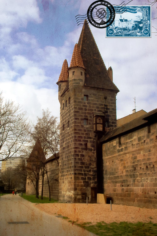 Torre do Castelo de Nuremberga