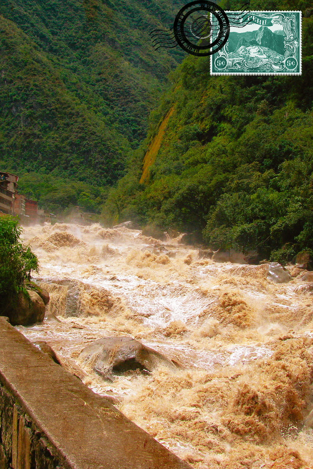 Urubamba River, also known as Sacred River