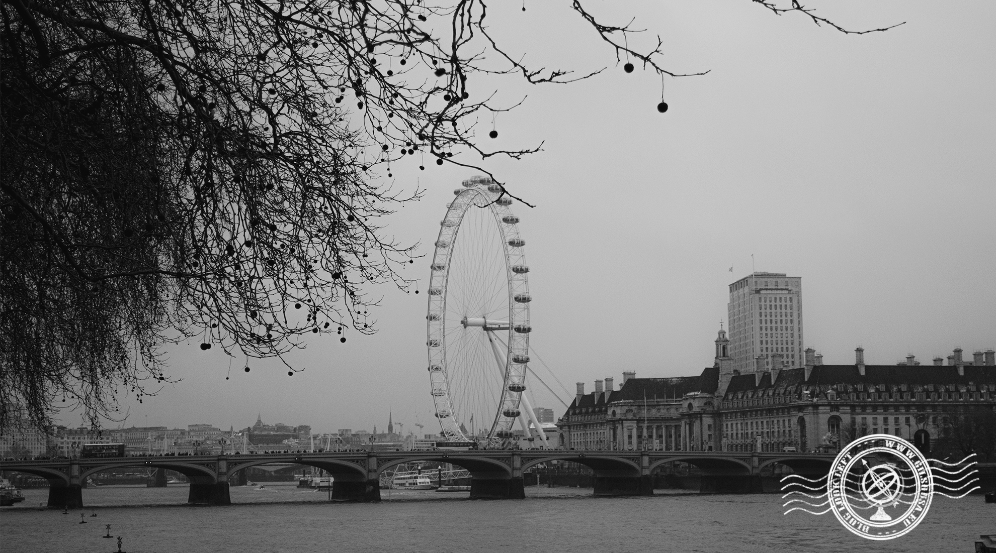 View over the London Eye
