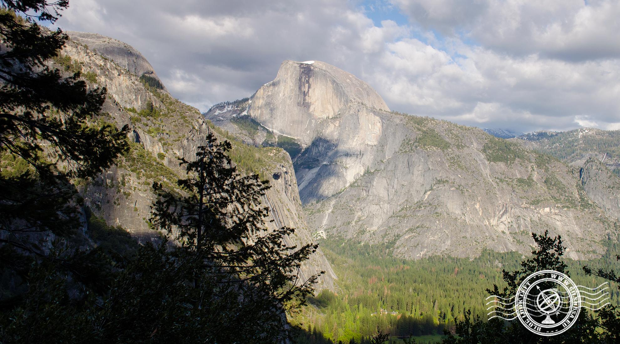 Half Dome no Parque Nacional Yosemite