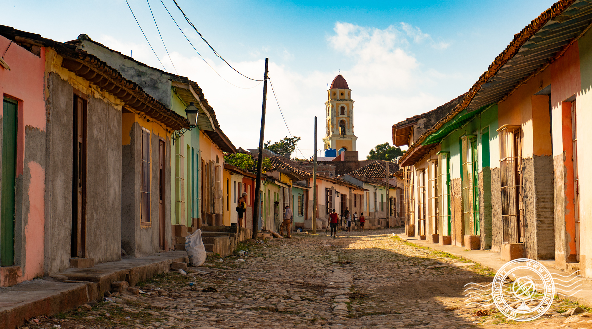 Old street in Trinidad