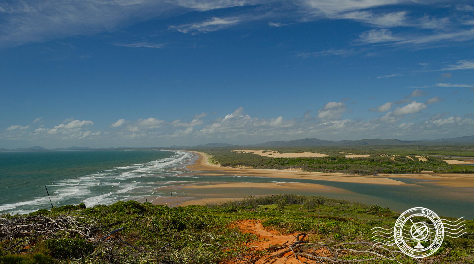 Vista em Middle Island - Agnes Water