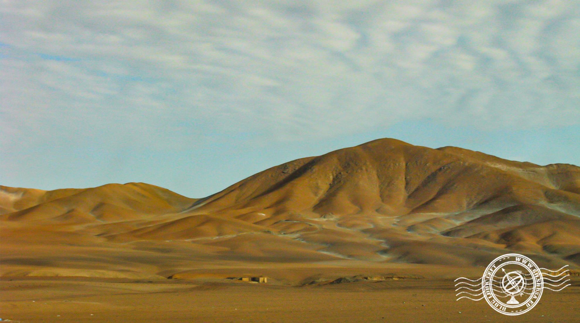 Deserto do Atacama no sul do Peru