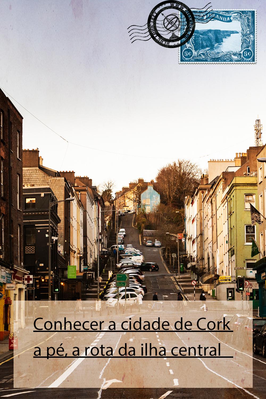 Conhecer a cidade de Cork a pé, a rota da ilha central