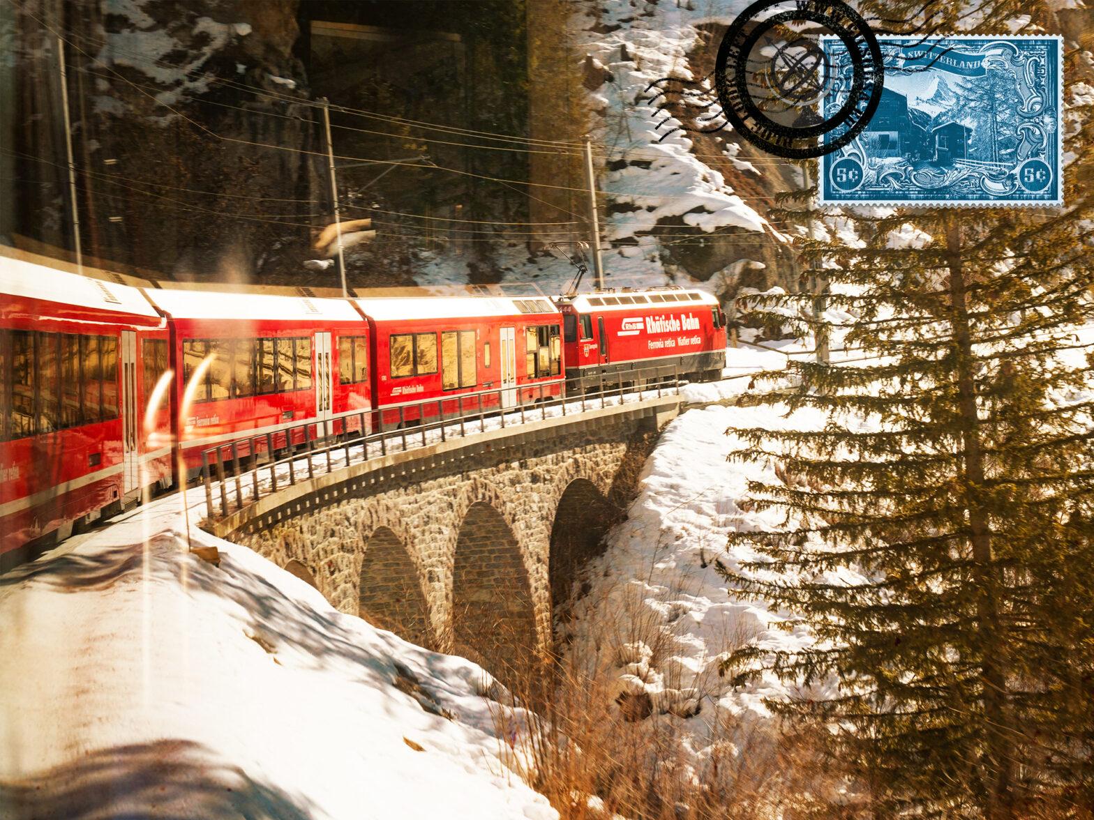 Explore the Glacier Express from St. Moritz to Zermatt