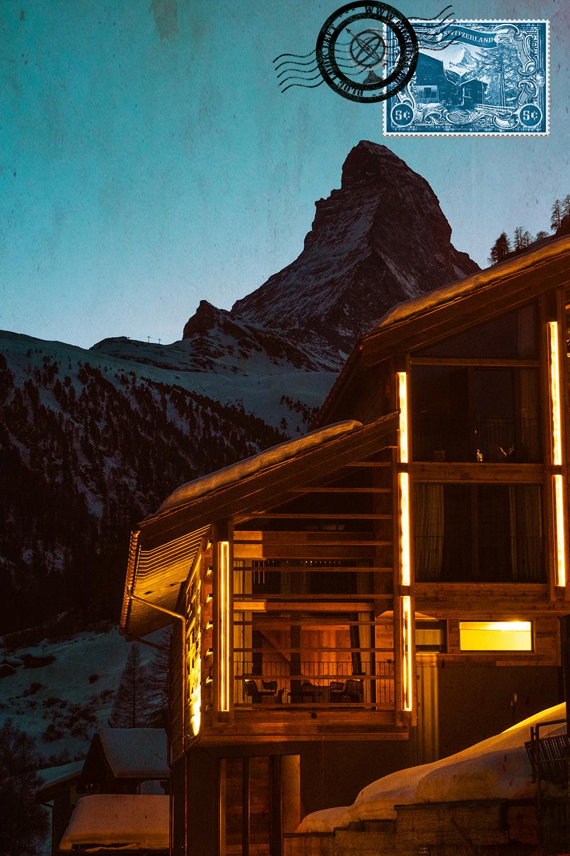 Matterhorn seen from Zermatt