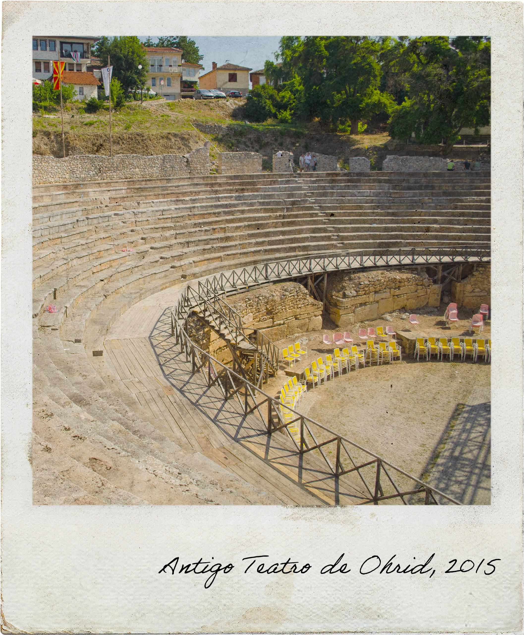 Antigo Teatro de Ohrid