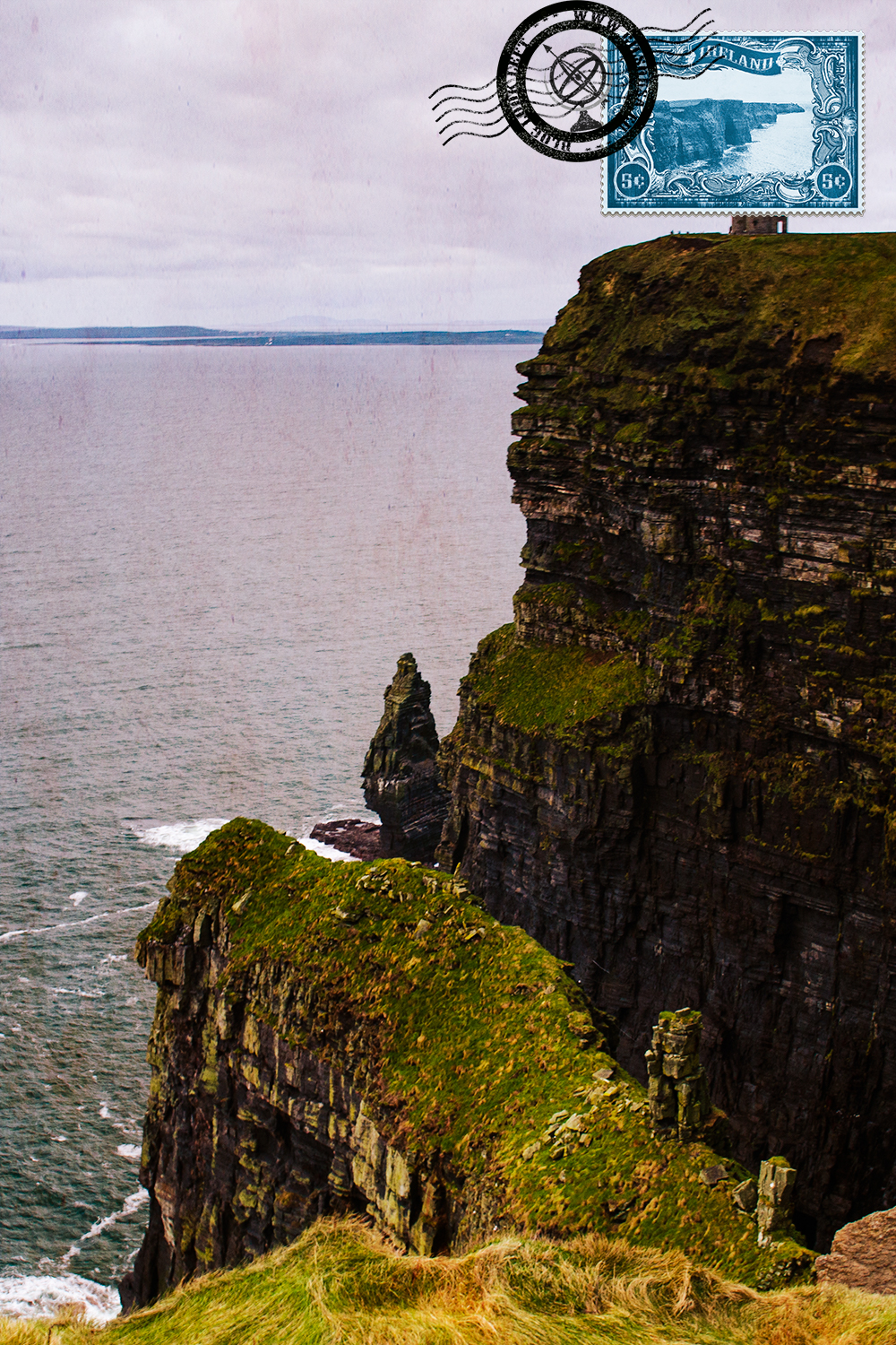 O'Brien Tower at the Cliffs of Moher