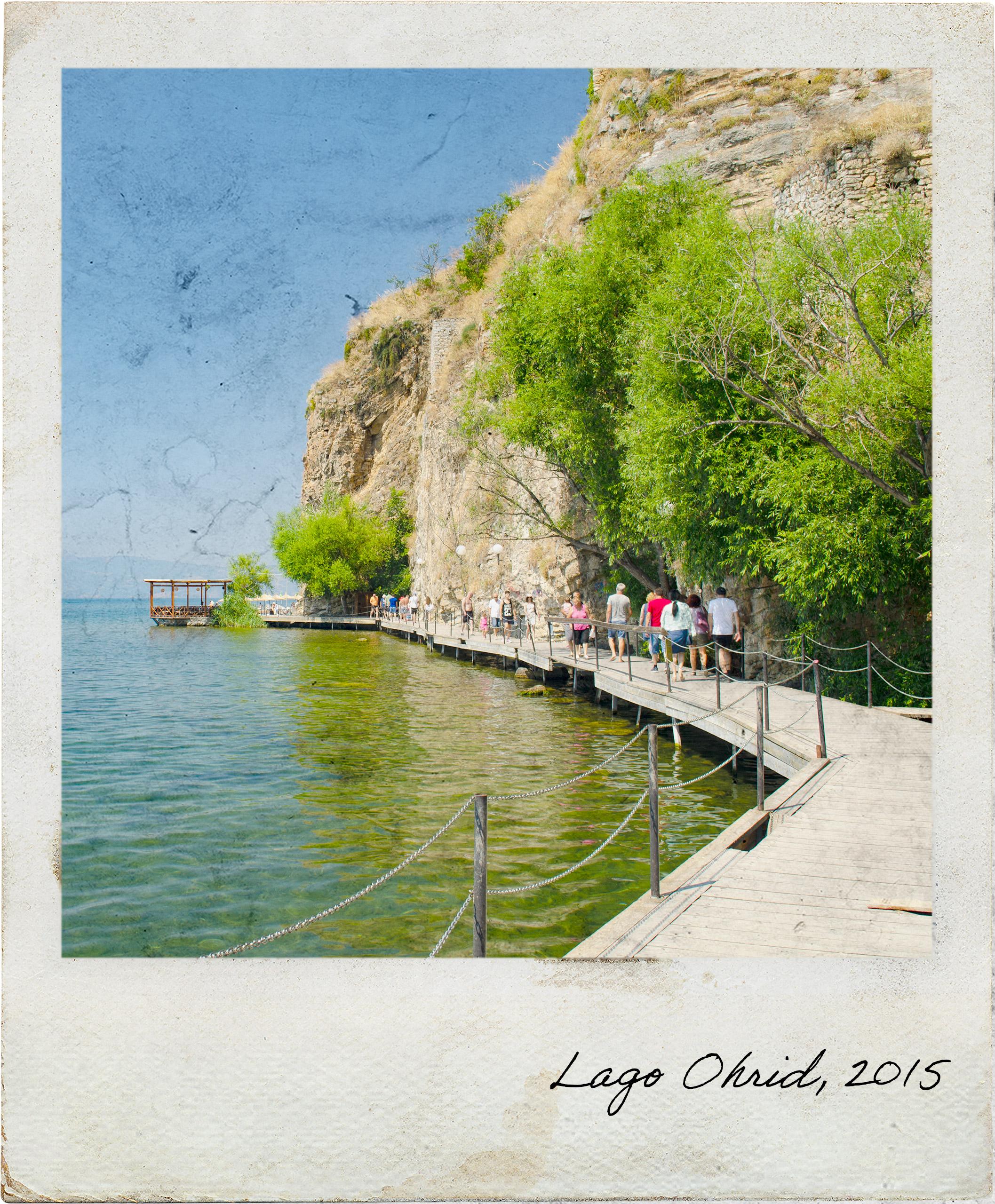 Passadiço em Ohrid
