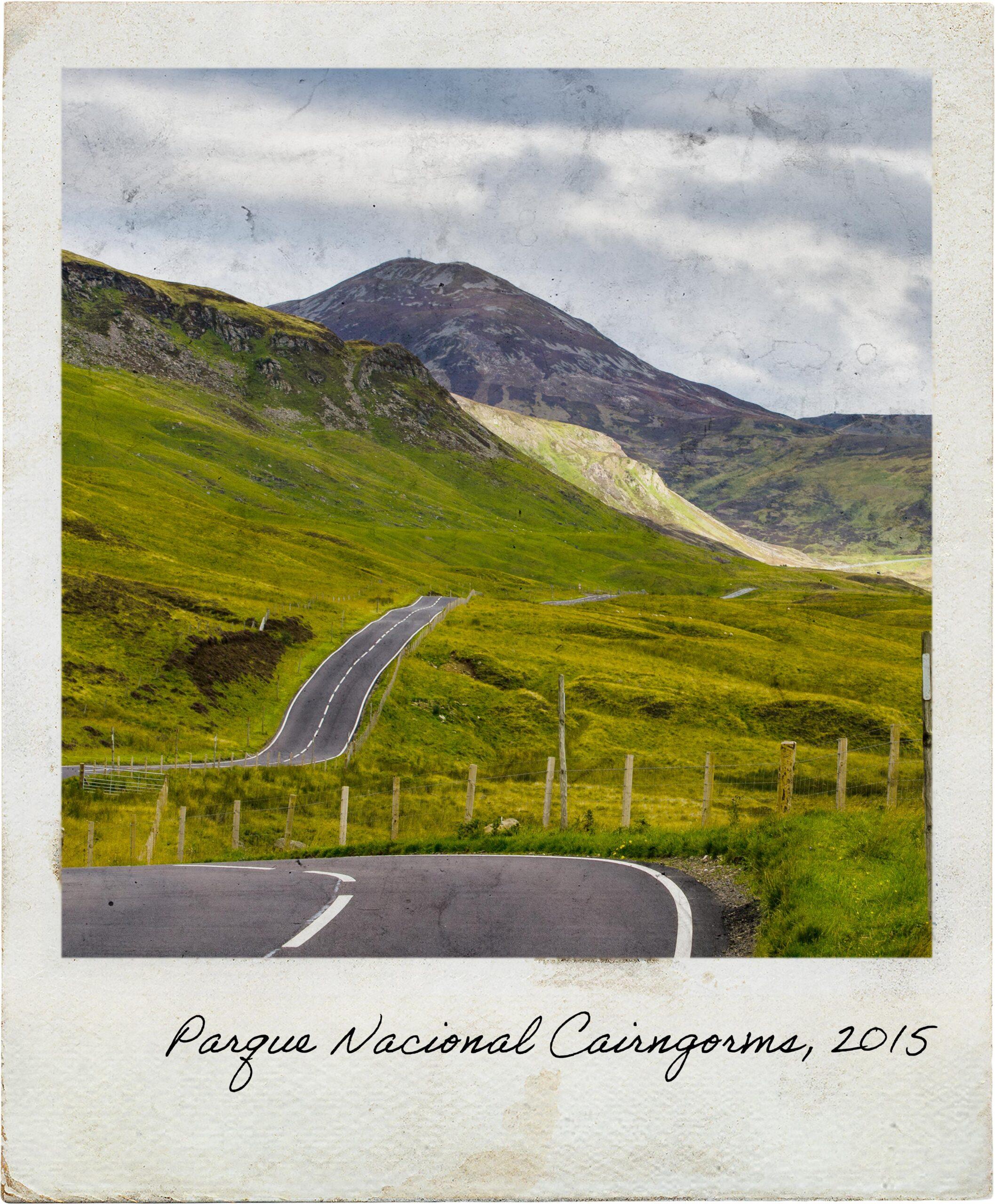Passagem pelo Parque Nacional Cairngorms