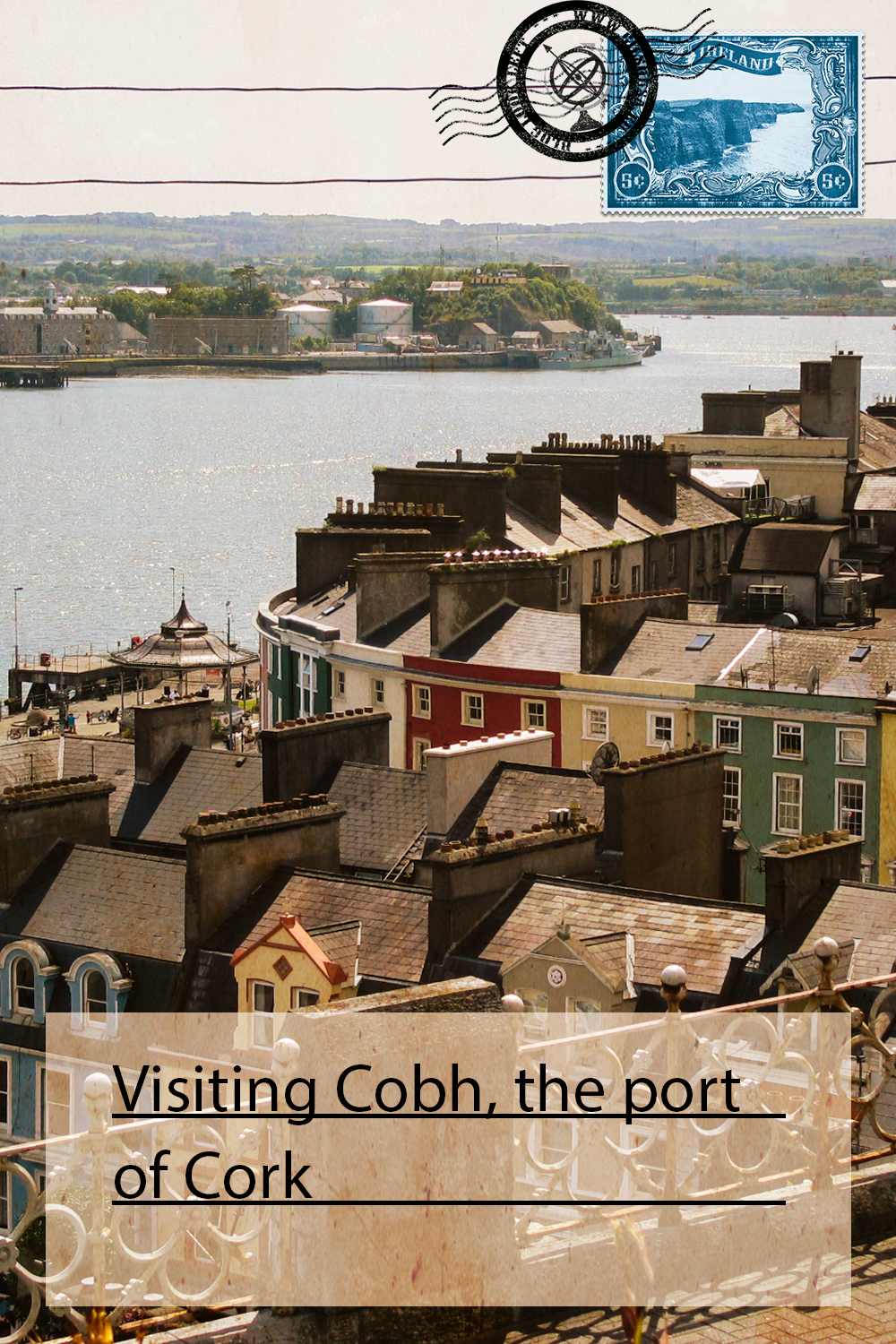 Visiting Cobh, the port of Cork