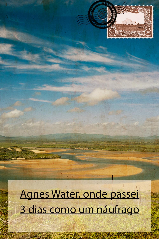 Agnes Water, onde passei 3 dias como um náufrago