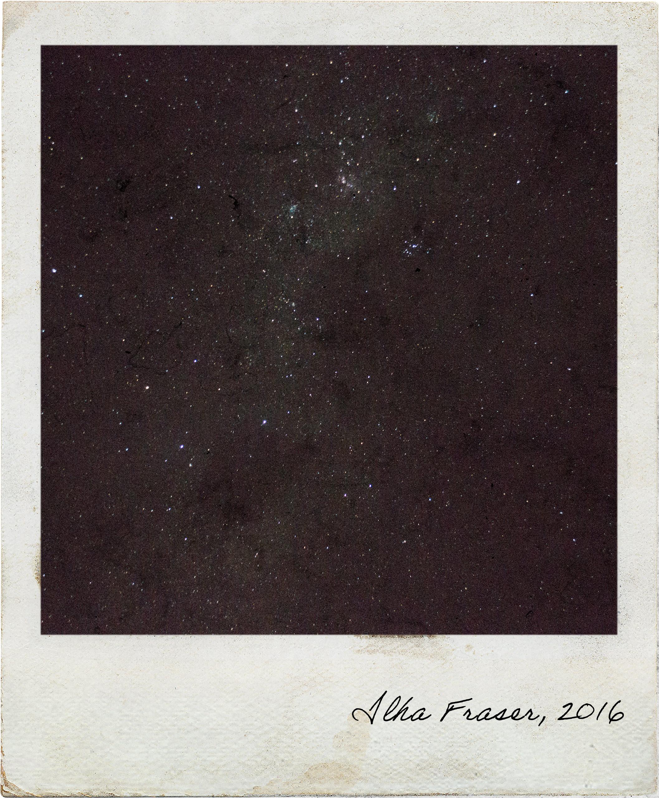 Stargazing in Fraser Island, how the sky looks like at naked eye