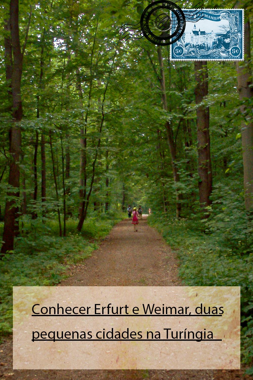 Conhecer Erfurt e Weimar, duas pequenas cidades na Turíngia