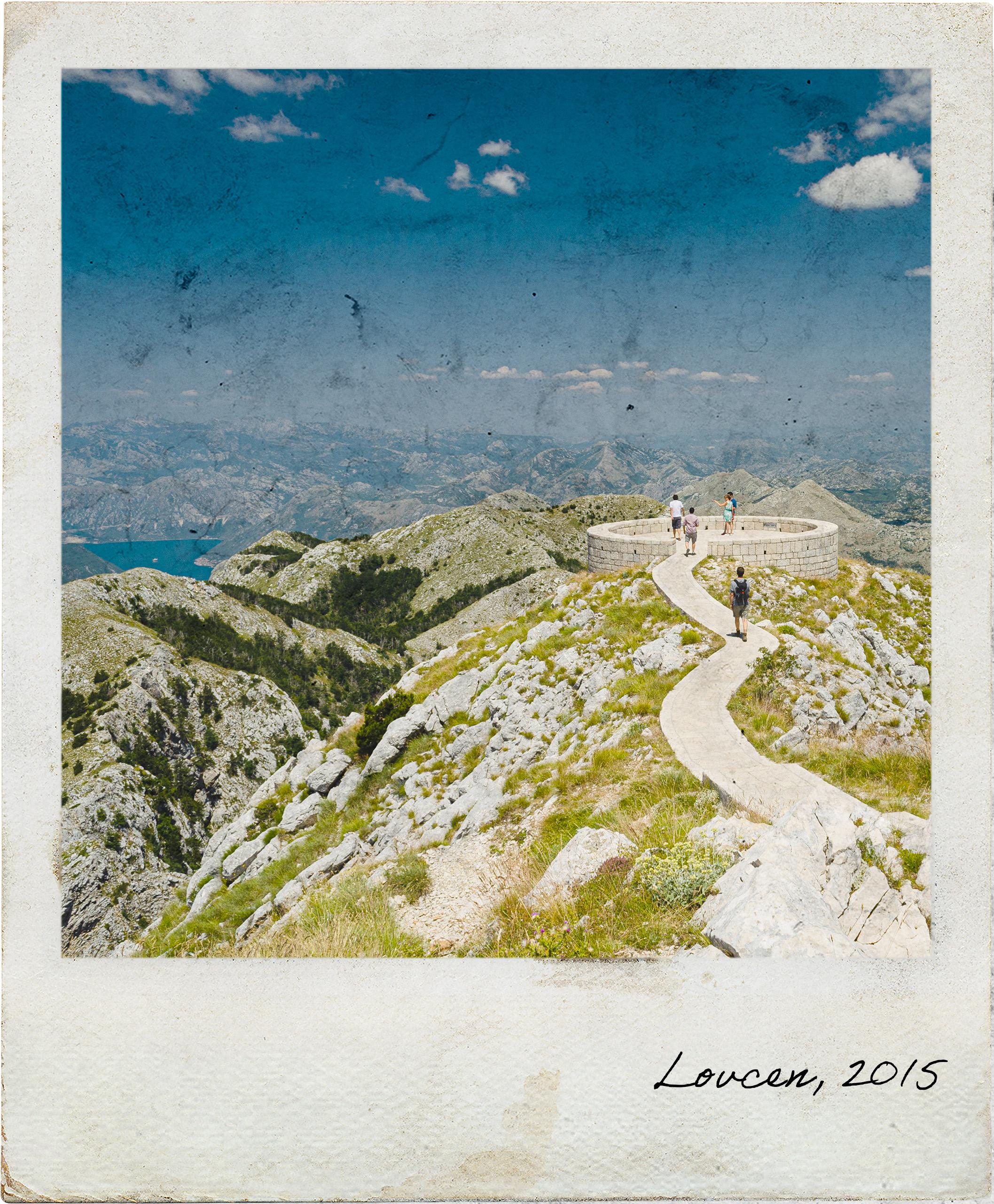 Miradouro em Lovcen
