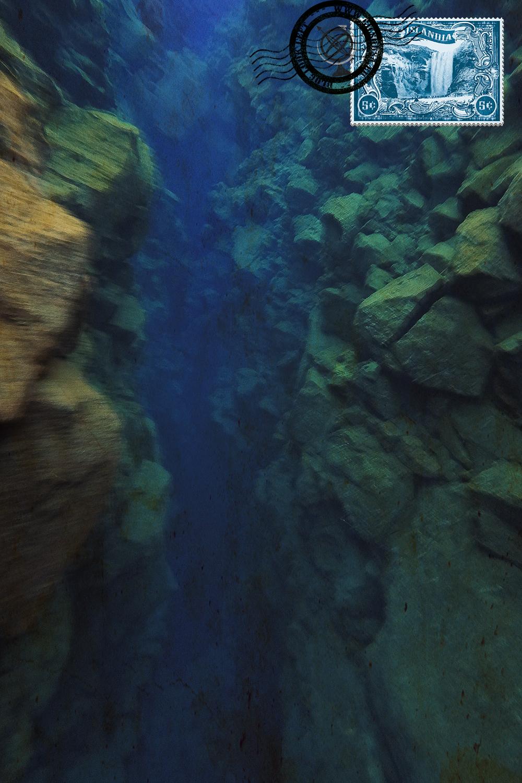 Abismo na Fissura Silfra