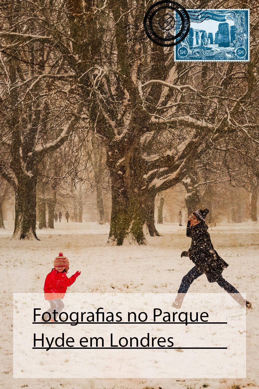 Fotografias no Parque Hyde em Londres