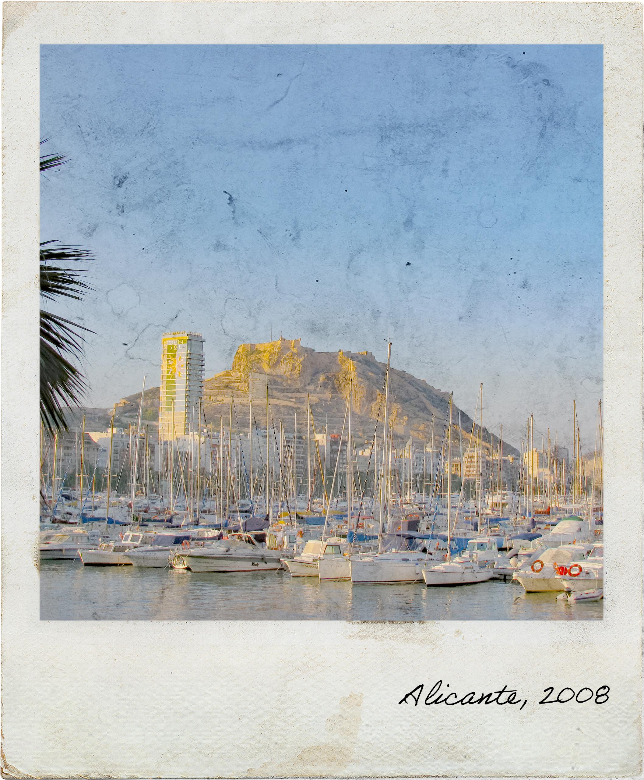 Marina e Castelo de Alicante
