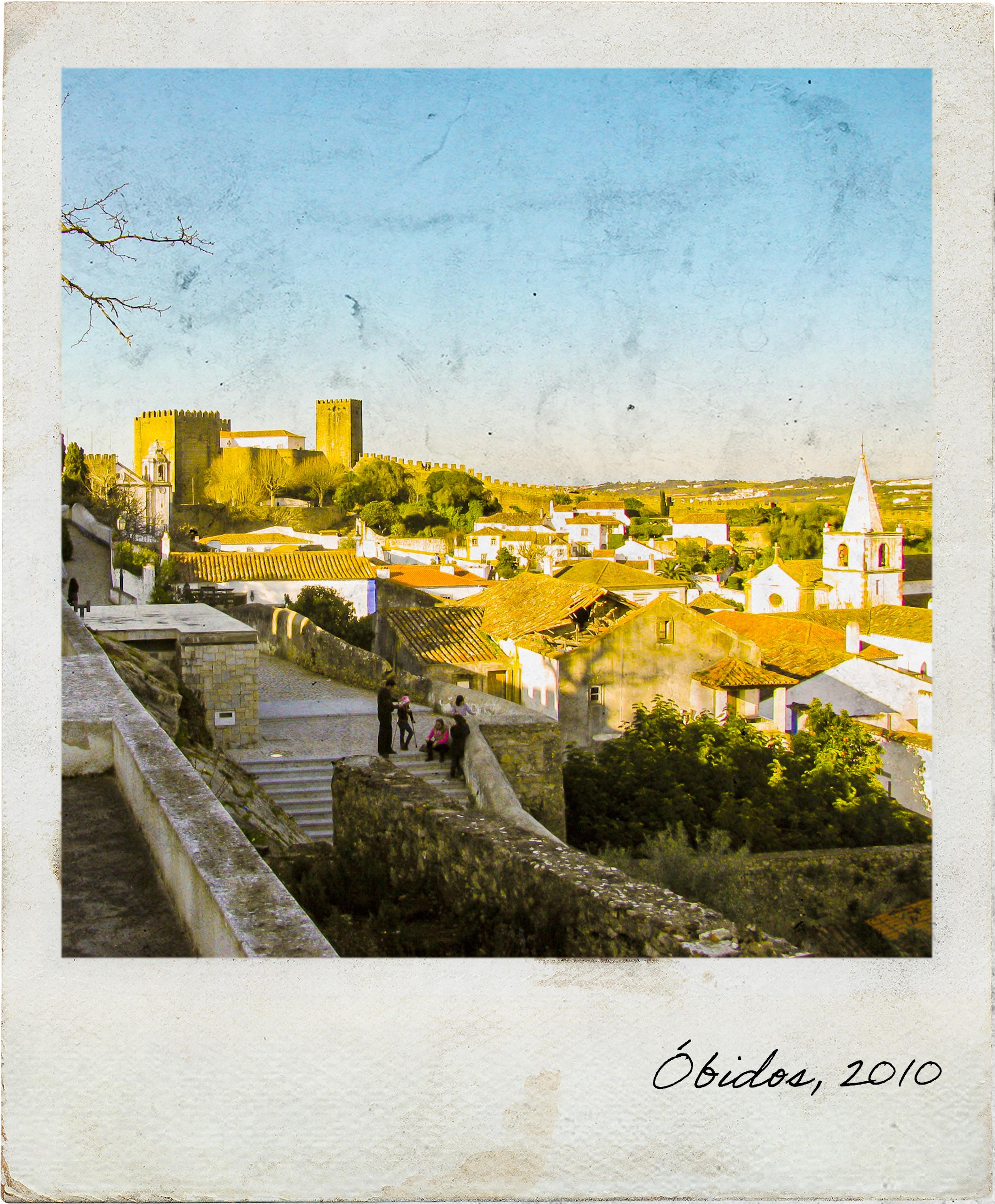 Miradouro em Óbidos