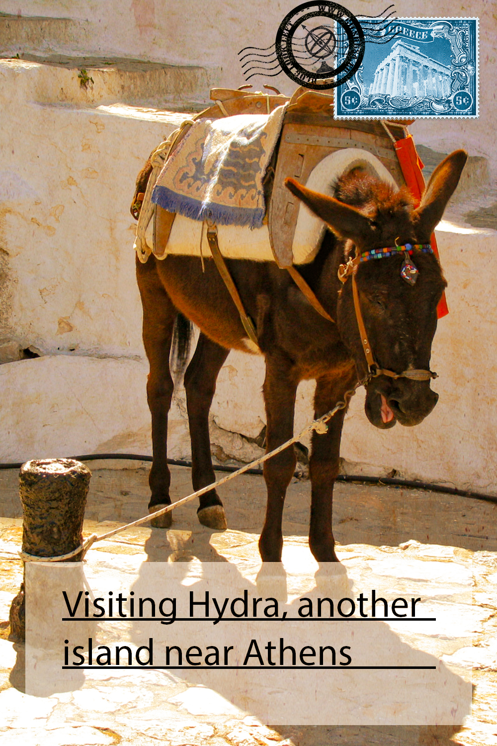 Visiting Hydra, another island near Athens