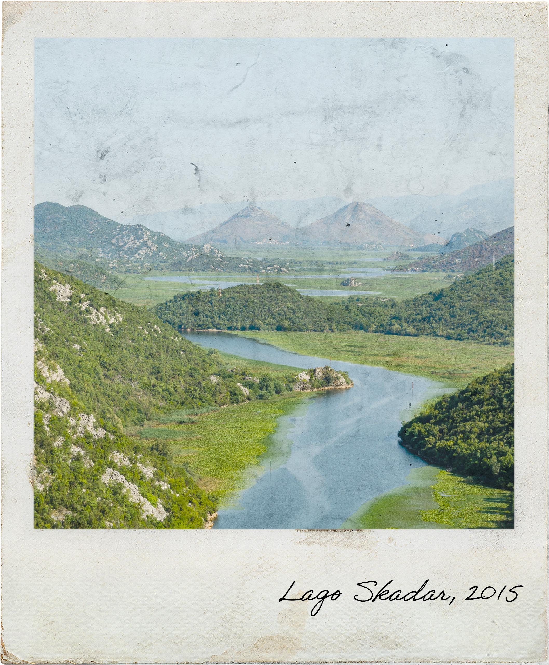 Vista no Parque Nacional do Lago Skadar