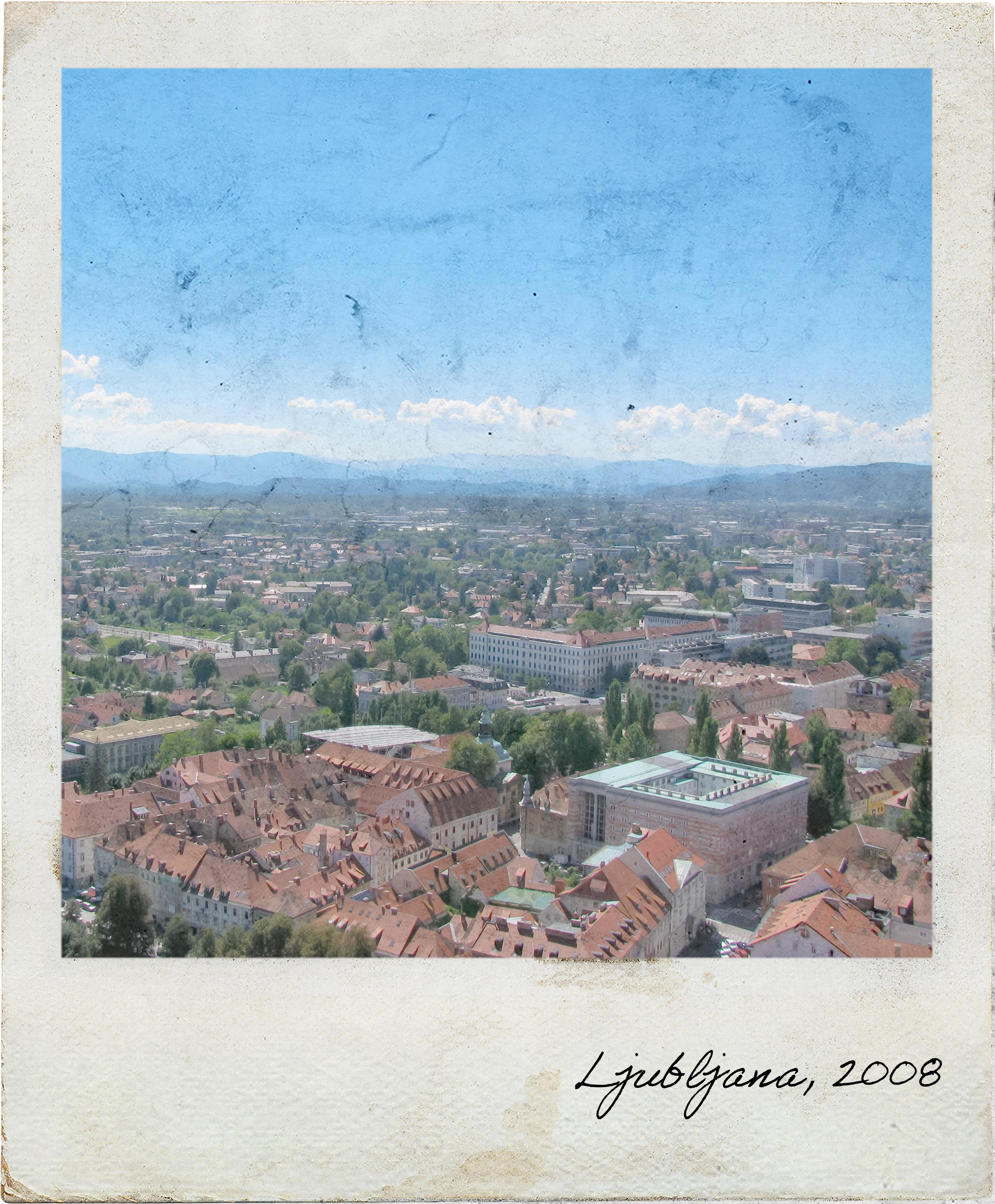 Vista sobre Ljubljana