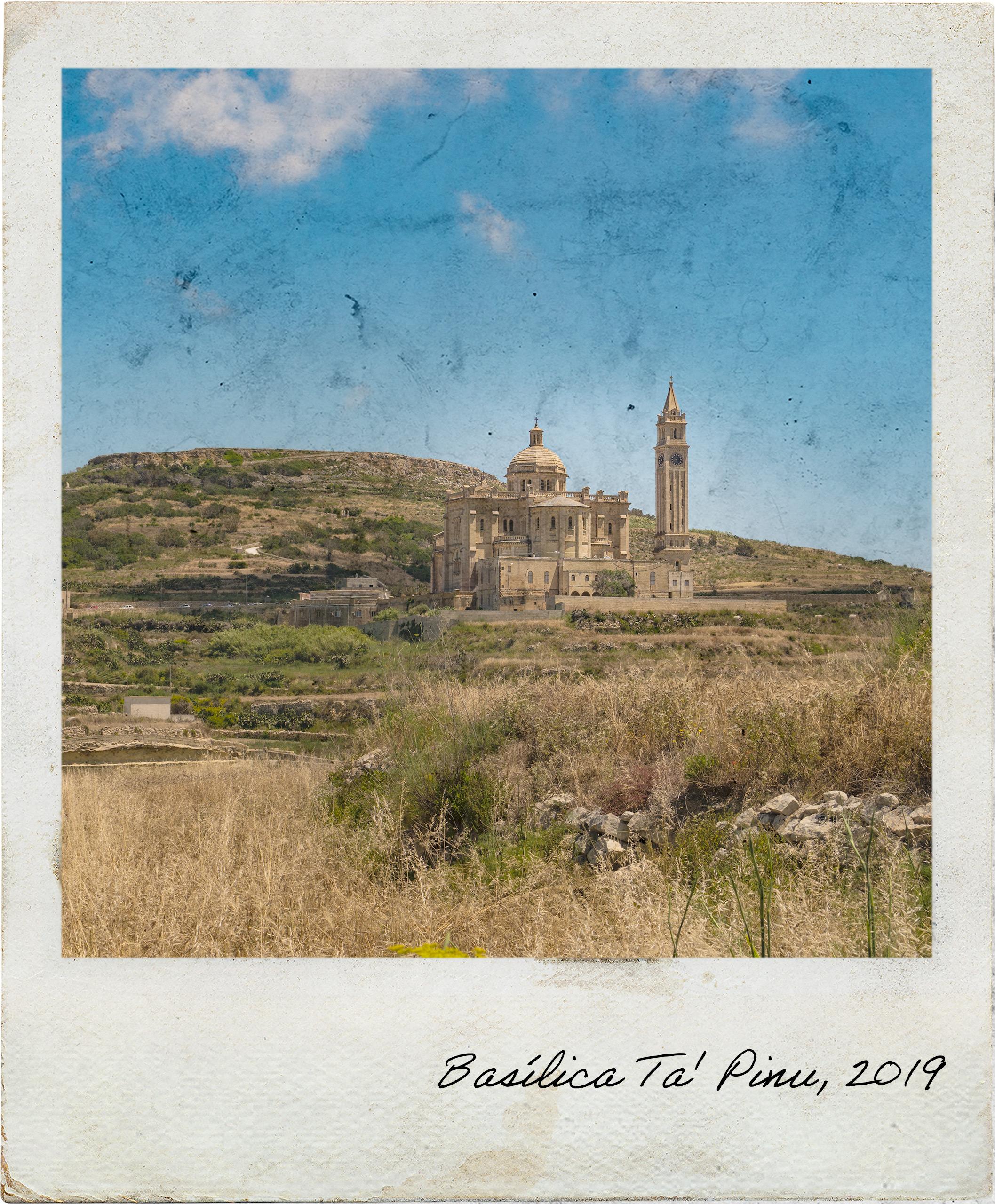Vista para a Basílica Ta' Pinu