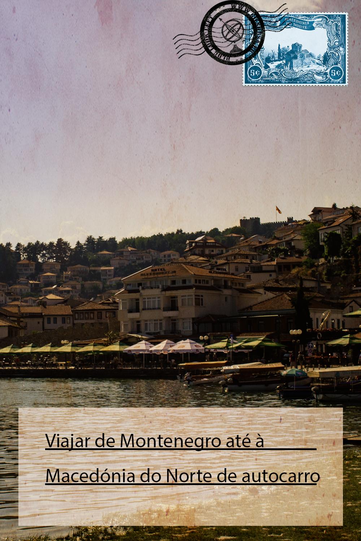 Viajar de Montenegro até à Macedónia do Norte de autocarro